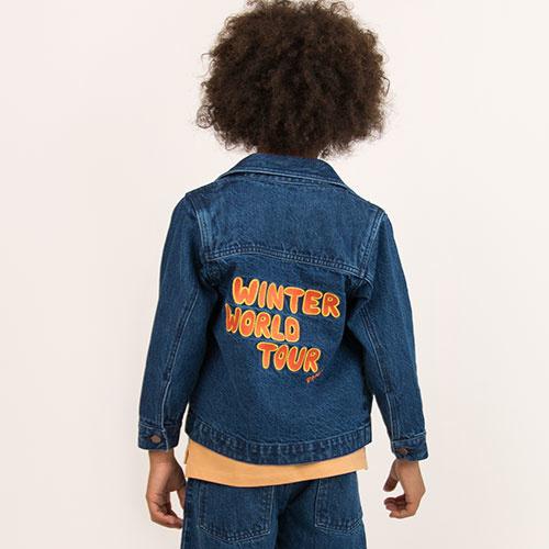 Tinycottons Winter World Tour Denim Jacket (Spijkerjas)-6