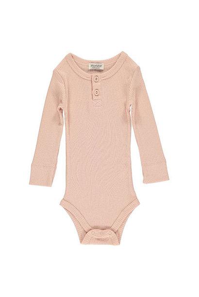 MarMar Copenhagen Baby Girl Modal Body LS Rose (Romper)