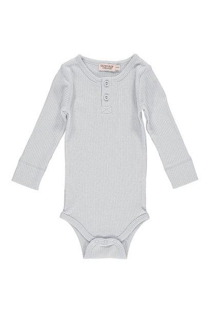 MarMar Copenhagen Baby Unisex Modal Body LS Pale Blue (Romper)