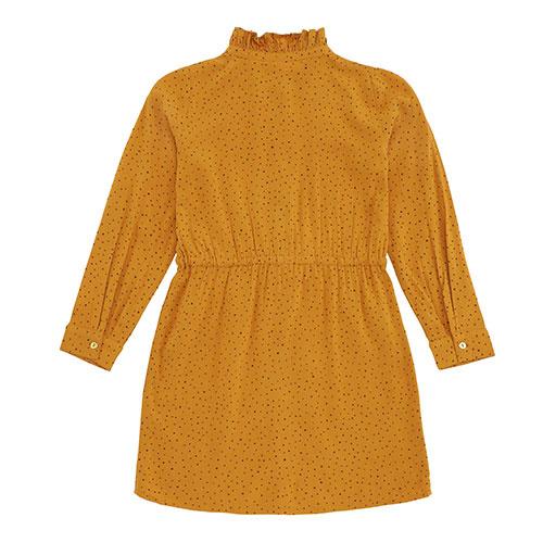 Soft Gallery Electa Dress Inca Gold AOP Trio Dotties (Jurk)-5