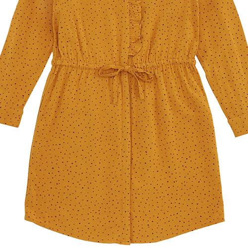 Soft Gallery Electa Dress Inca Gold AOP Trio Dotties (Jurk)-4