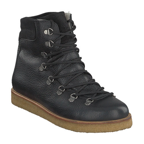 Angulus Boot with Zipper, Laces and D-Rings black / zwart (Veterschoenen)-4