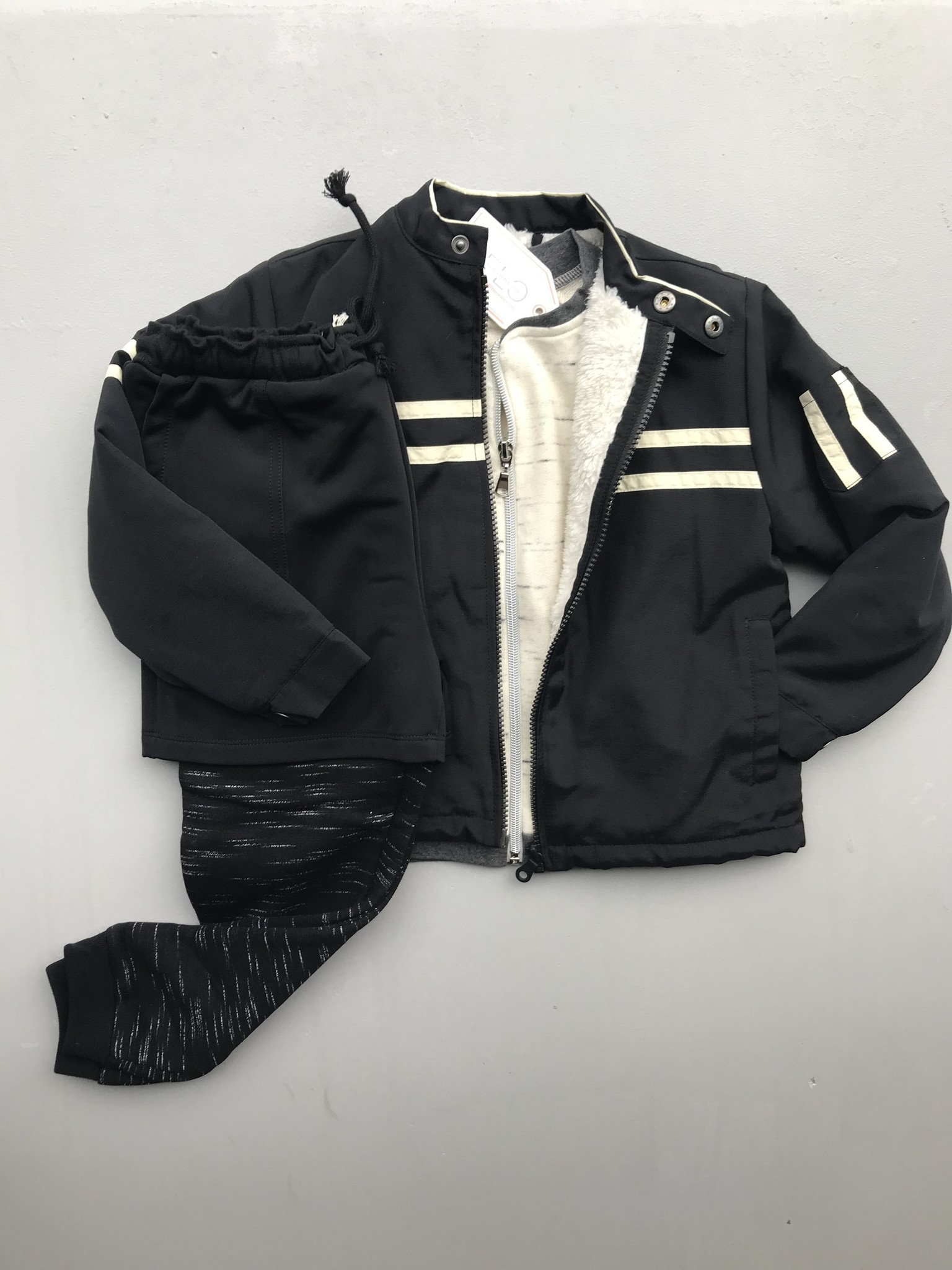 Wild & Gorgeous Biker Jacket Black (Jas)-3