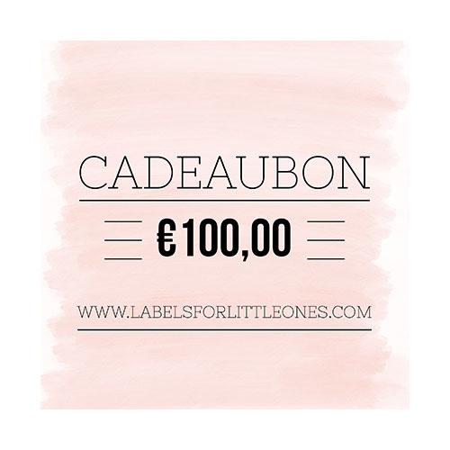 Cadeaubon €100 // Labels for Little Ones-1