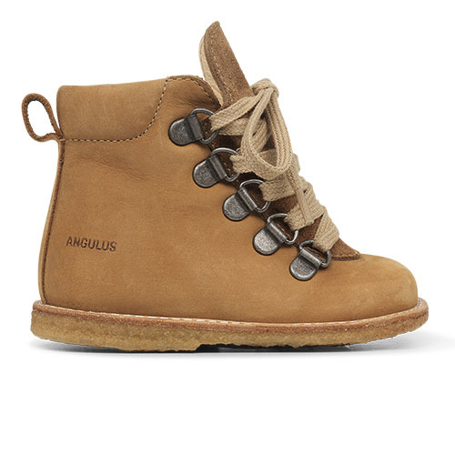Angulus Starter Boot with Laces and Zipper camel tan / licht bruin (Schoenen)-2