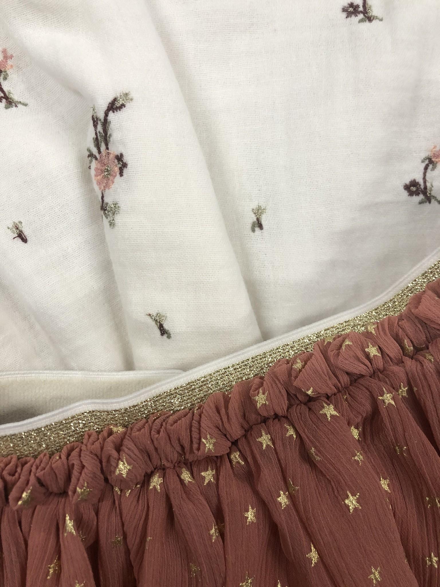 Wild & Gorgeous Star Skirt Dusty Pink (Rok)-3