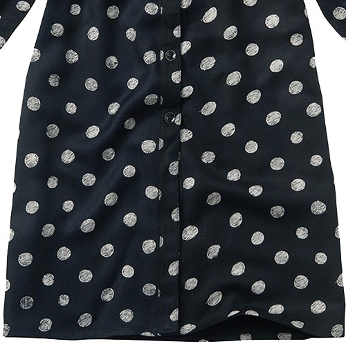 Sproet & Sprout Midi Dress Polka Dots Black (Jurk)-5