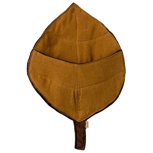 Maileg Hedgehog in leaf (egel)-3
