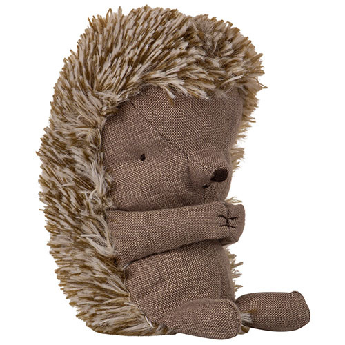 Maileg Hedgehog in leaf (egel)-2