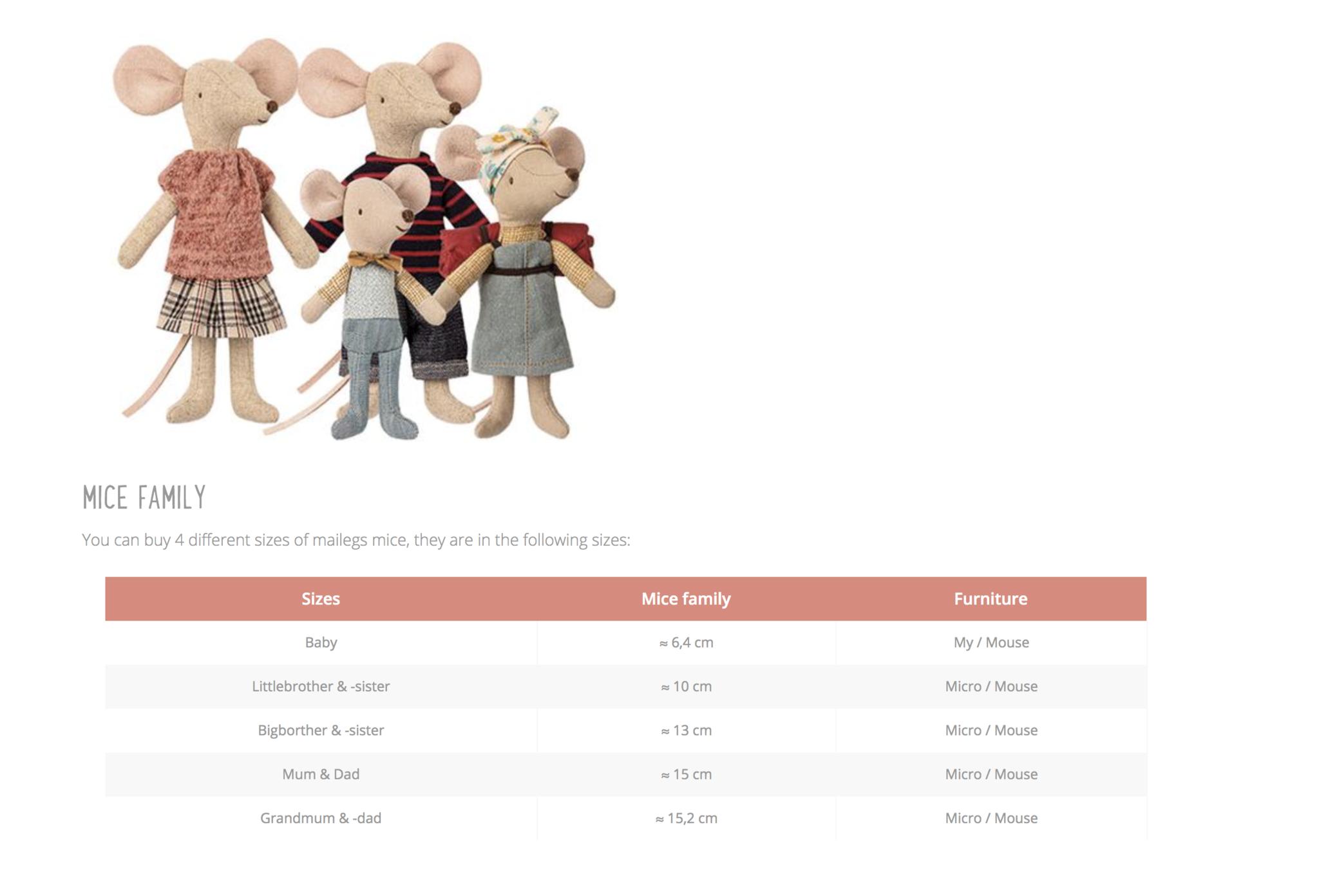 Maileg Queen mouse (muis)-4