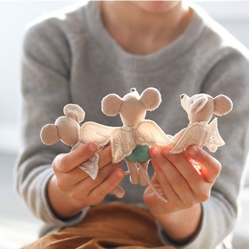Maileg Fairy mouse, 3 Little sister (muis)-2