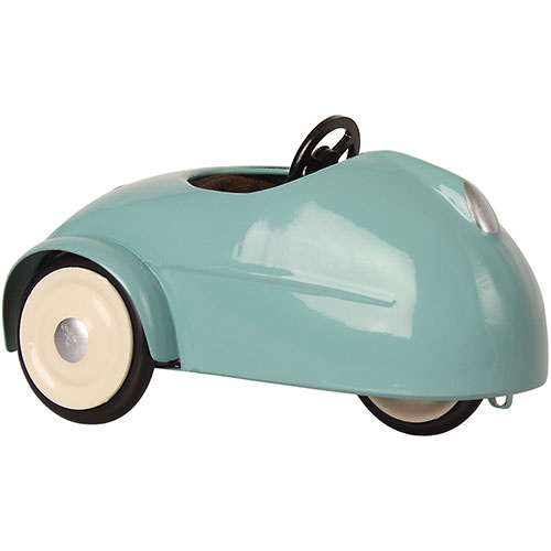Maileg Mouse car with garage - Blue (muis)-3