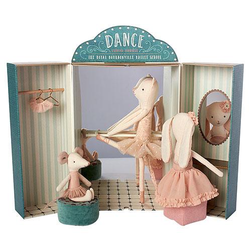 Maileg Ballet school (ballet studio)-2