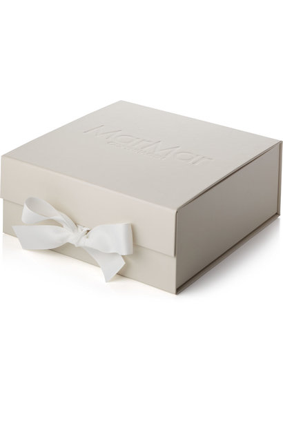 MarMar Copenhagen Newborn Baby Gift Box Gentle White 2 piece (Cadeau set)