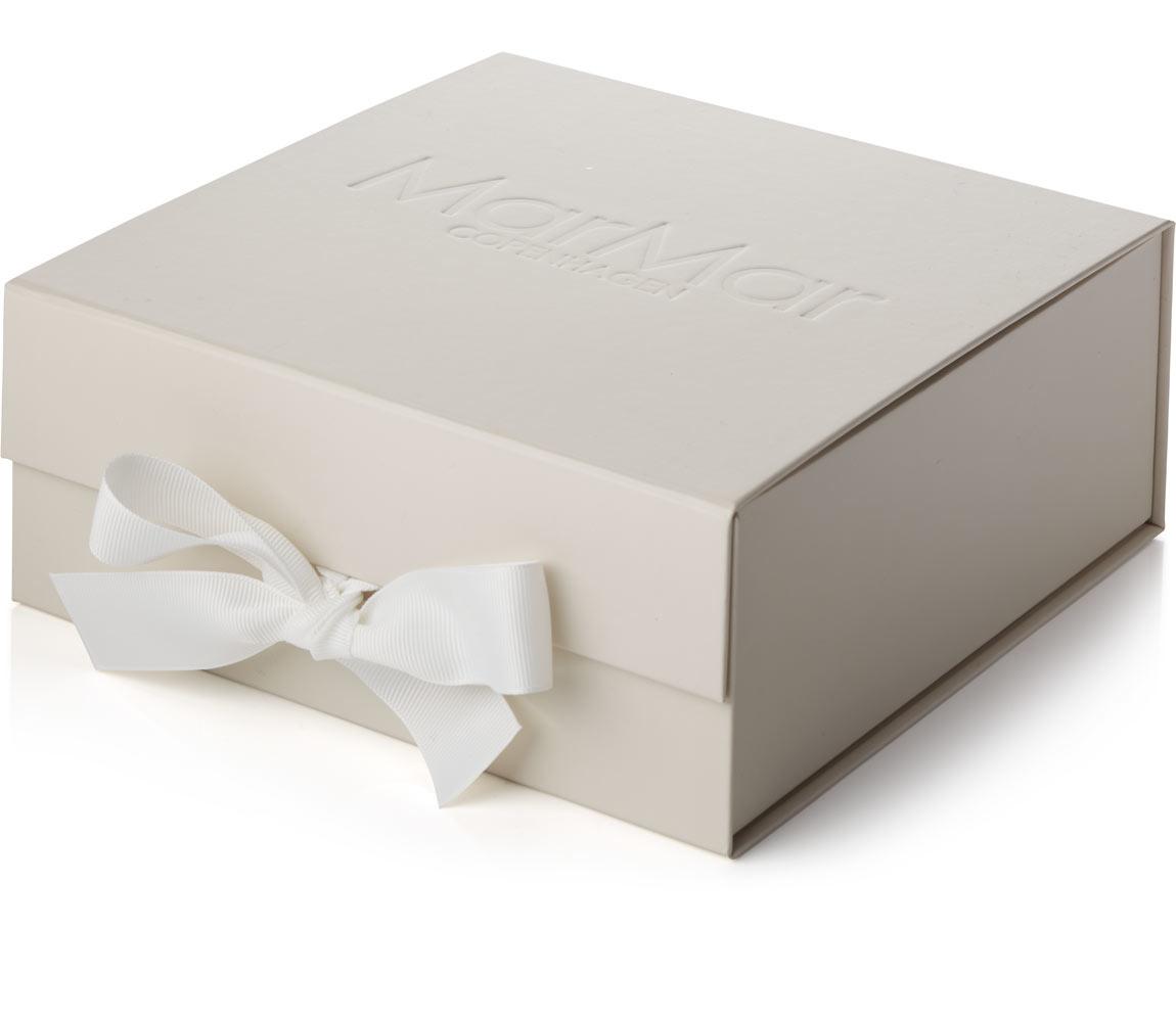 MarMar Copenhagen Newborn Baby Gift Box Gentle White 2 piece (Cadeau set)-1