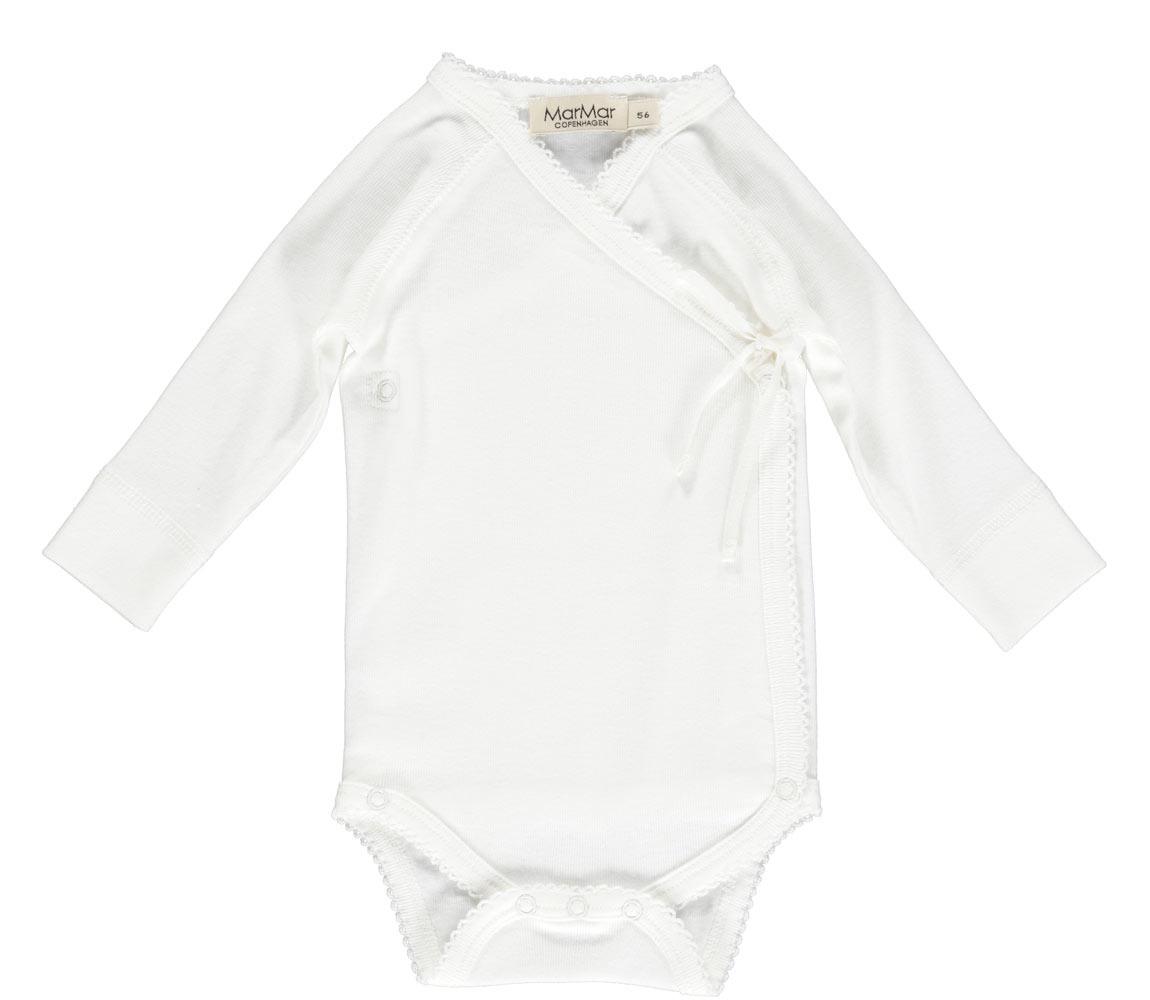 MarMar Copenhagen Newborn Baby Gift Box Gentle White 2 piece (Cadeau set)-5