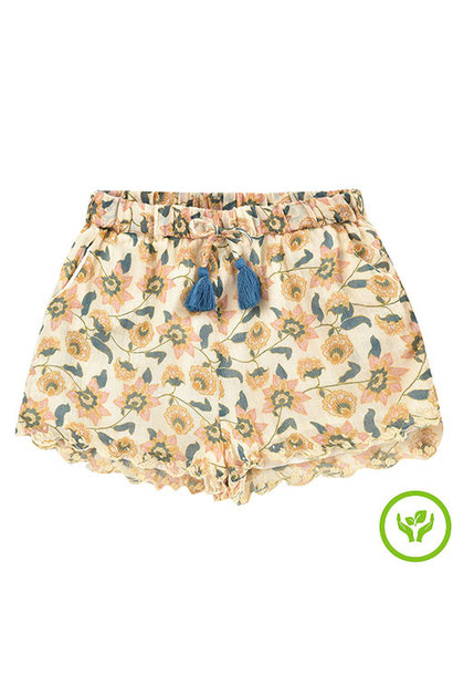 Louise Misha Vallaloid Shorts Cream Flowers (short)