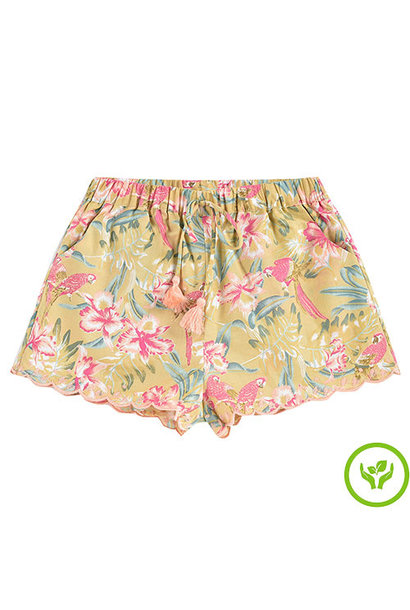Louise Misha Vallaloid Shorts Soft Honey Parrots (short)