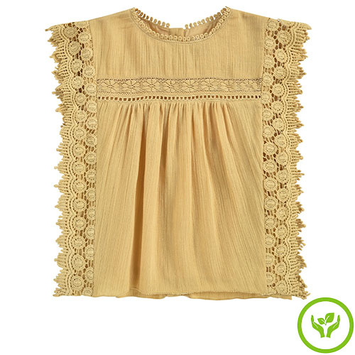 Louise Misha Adolio Blouse Soft Honey (shirt)-1