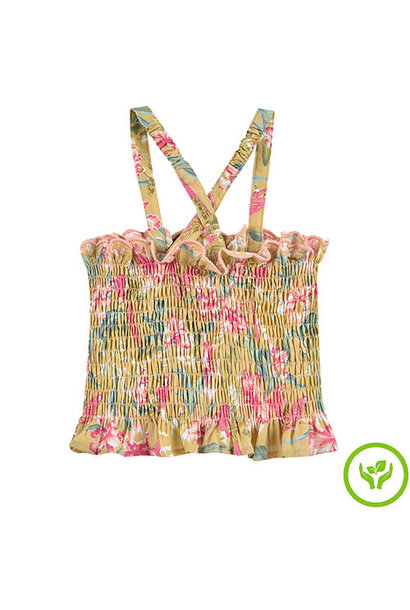 Louise Misha Malika Top Soft Honey Parrots (shirt)
