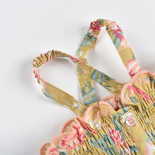 Louise Misha Malika Top Soft Honey Parrots (shirt)-6