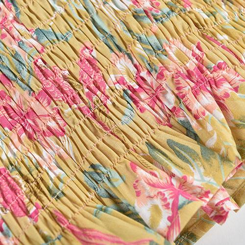 Louise Misha Malika Top Soft Honey Parrots (shirt)-7