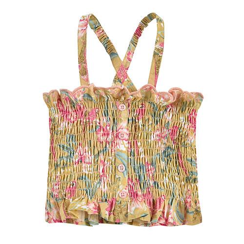 Louise Misha Malika Top Soft Honey Parrots (shirt)-8