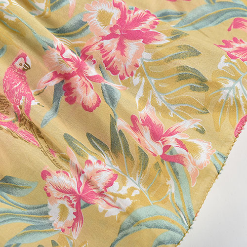 Louise Misha Marceline Dress Soft Honey Parrots (jurk)-5
