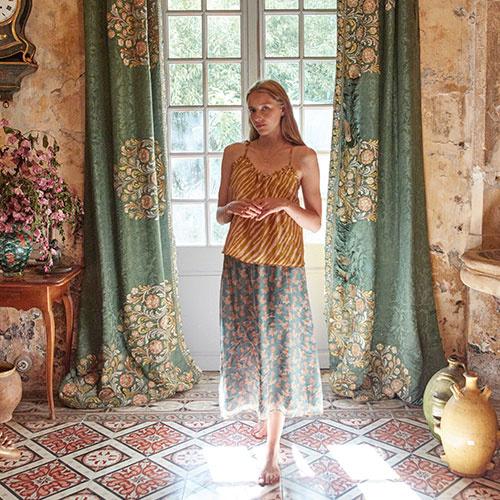 Louise Misha Women Yungalina Skirt Storm Flowers Skirt (rok)-3