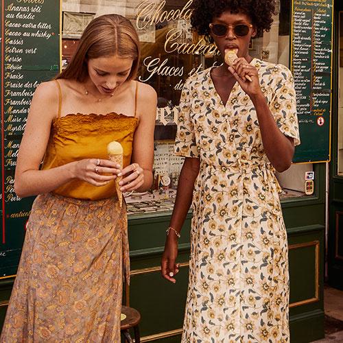 Louise Misha Women Julia Top Cinnamon (shirt)-4