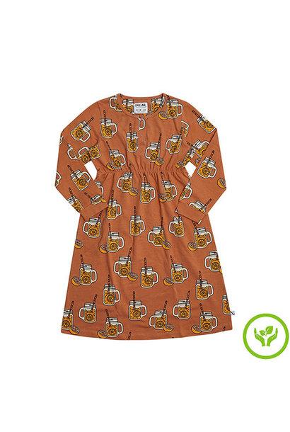 CarlijnQ Lemonade - 2 buttons dress (jurk)