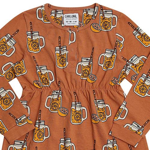 CarlijnQ Lemonade - 2 buttons dress (jurk)-4