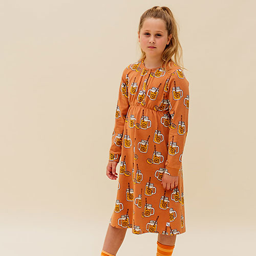 CarlijnQ Lemonade - 2 buttons dress (jurk)-2