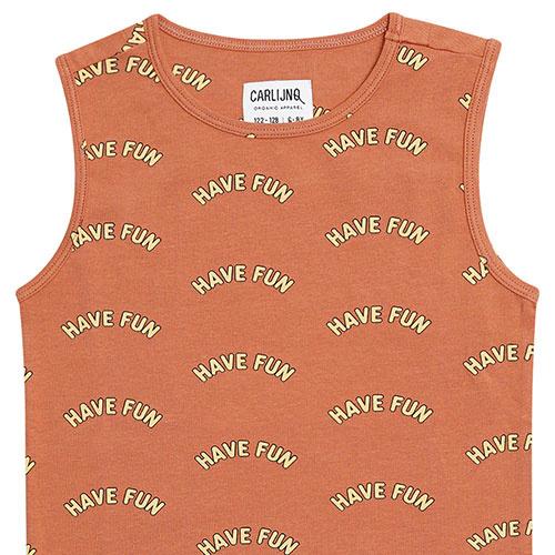 CarlijnQ Have fun - tanktop (shirt)-2