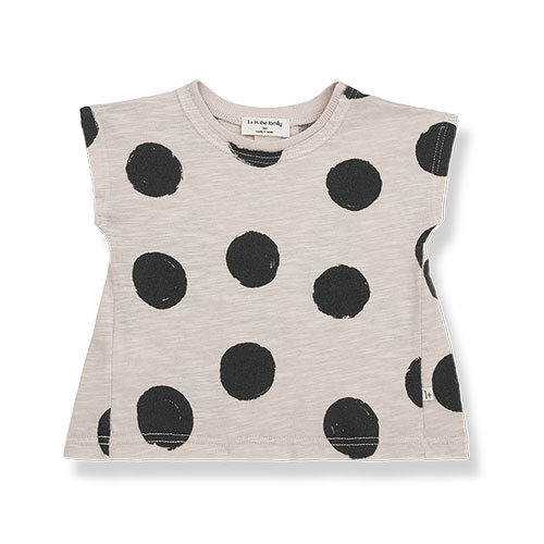 1+ in the family fiona t-shirt Dotted Slub Cotton stone (top)-1
