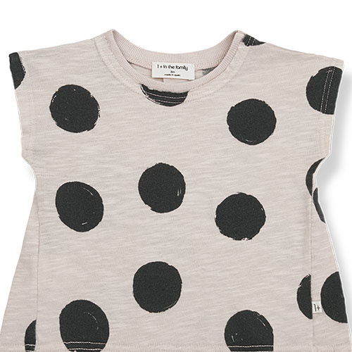 1+ in the family fiona t-shirt Dotted Slub Cotton stone (top)-6