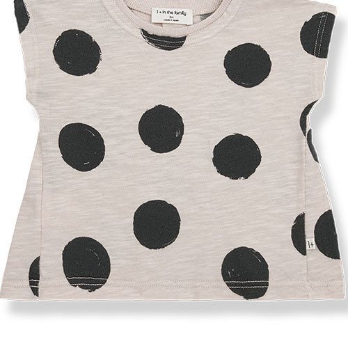 1+ in the family fiona t-shirt Dotted Slub Cotton stone (top)-7