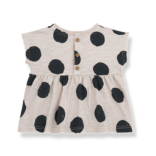 1+ in the family fiona t-shirt Dotted Slub Cotton stone (top)-8