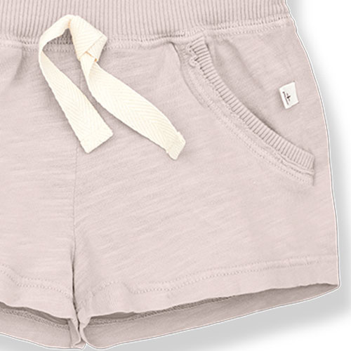 1+ in the family luis bermuda Slub Cotton Jersey rose (shorts)-3