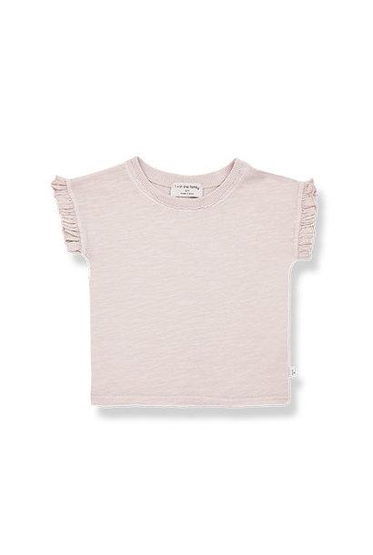 1+ in the family mireia short sleeve t-shirt Slub Cotton Jersey rose (shirt)