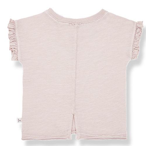 1+ in the family mireia short sleeve t-shirt Slub Cotton Jersey rose (shirt)-4