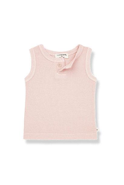 1+ in the family genis tank top Rib rose (shirt)