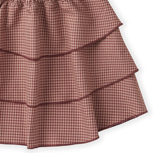 Sproet & Sprout Skirt Mini Check Rose (rok)-7