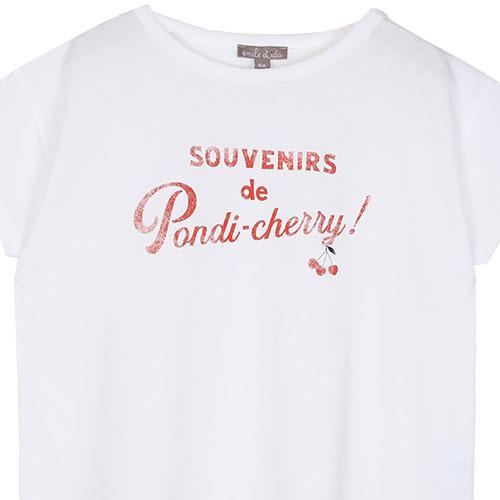 Emile et Ida Tee Shirt Souvenirs de Pondi-Cherry (t-shirt)-6