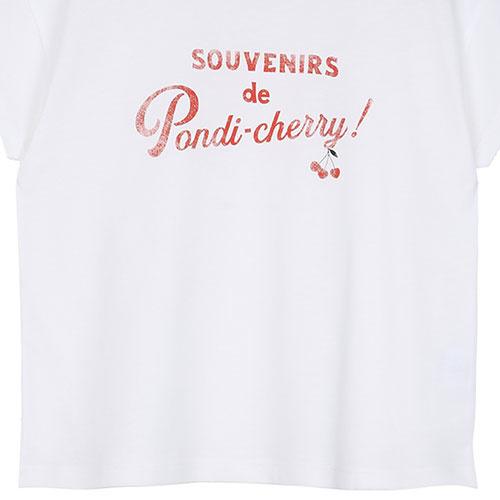 Emile et Ida Tee Shirt Souvenirs de Pondi-Cherry (t-shirt)-7