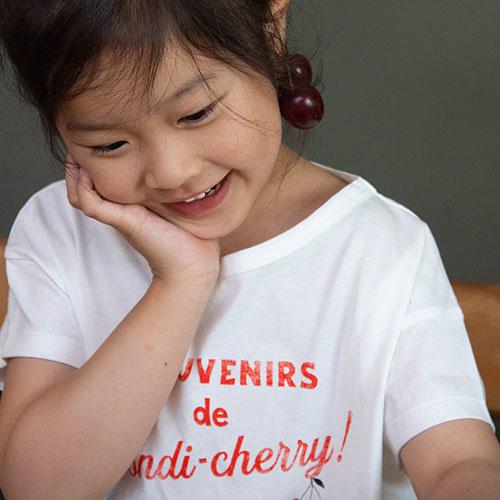 Emile et Ida Tee Shirt Souvenirs de Pondi-Cherry (t-shirt)-3