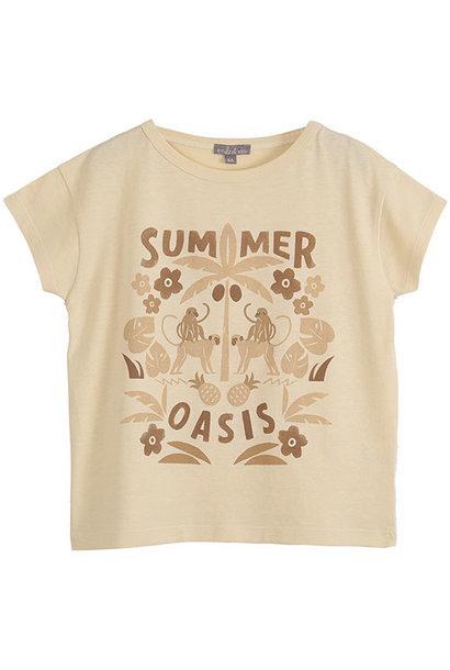 Emile et Ida Tee Shirt Vanille Coton Summer (t-shirt)