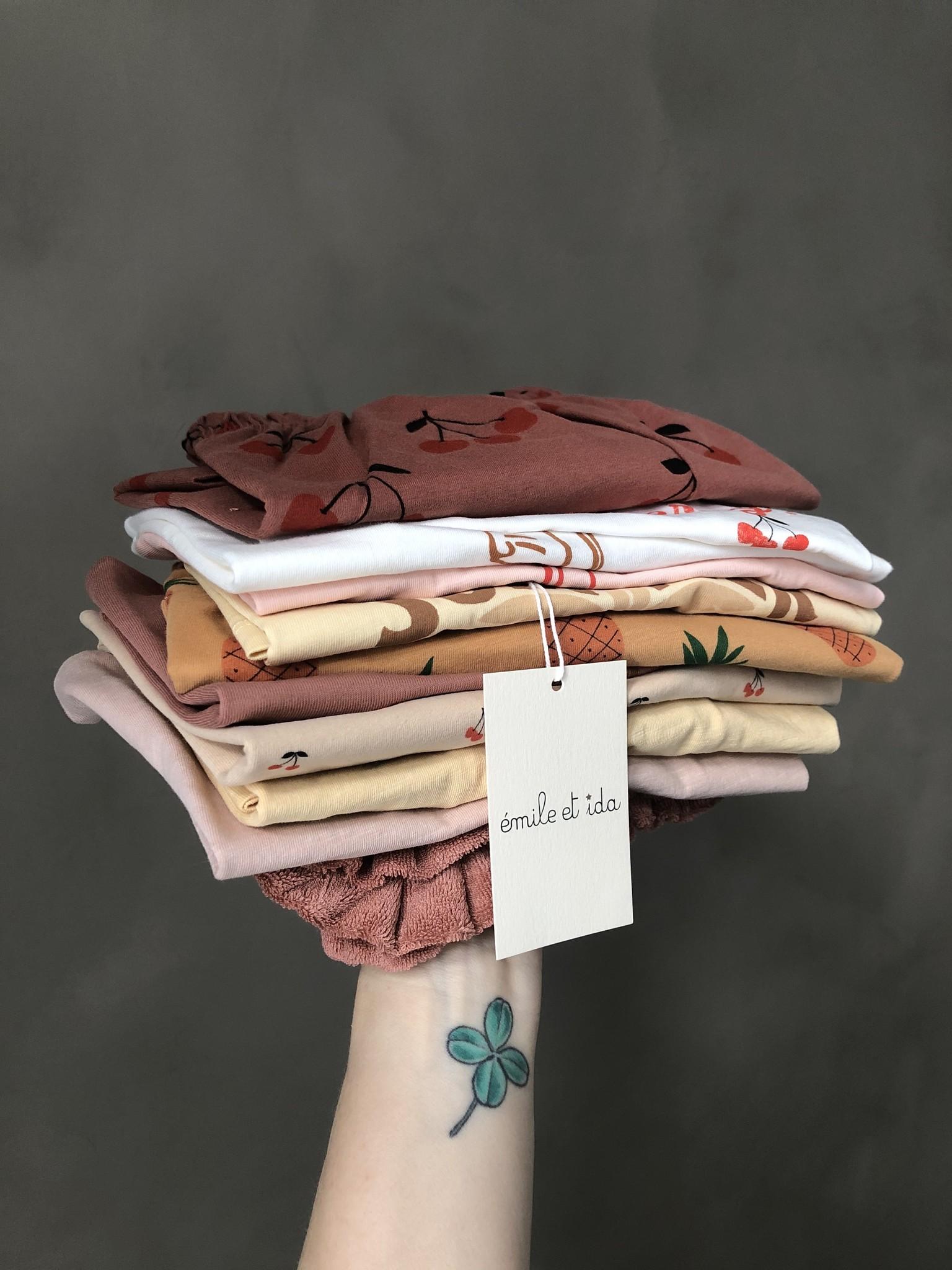 Emile et Ida Tee Shirt Vanille Coton Summer (t-shirt)-2
