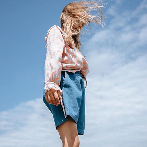 Soft Gallery Hudson Shorts Majolica Blue (kort broek)-3