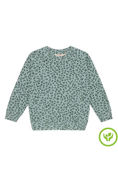 Soft Gallery Baptiste Sweatshirt Slate, AOP Leospot L (trui)